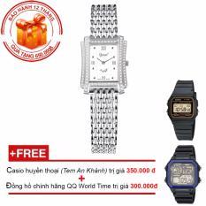 Bán Đồng Hồ Nữ Day Kim Loại Ogival Og386Lw T Tặng 2 Đồng Hồ Casio Huyền Thoại Va Đồng Hồ Thể Thao World Time Hà Nội Rẻ