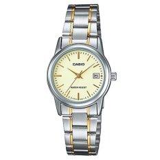 Nơi bán Đồng hồ nữ dây thép không gỉ Casio LTP-V002SG-9AUDF