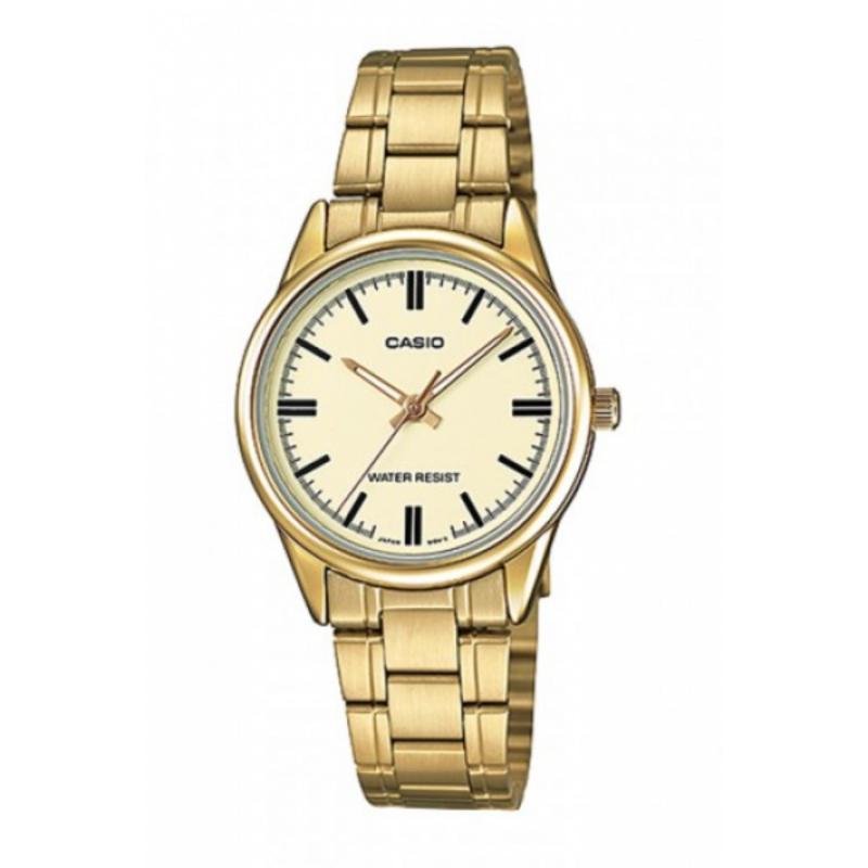 Đồng hồ nữ dây thép không gỉ Casio LTP-V005G-9AUDF