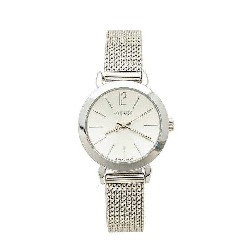 Đồng hồ nữ dây thép không gỉ Julius PJU970tg (Bạc)