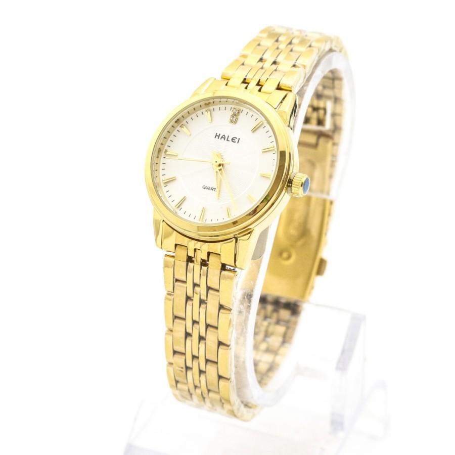 Đồng hồ nữ dây thép không gỉ TCT HALEI SLW2378 (Mạ vàng)