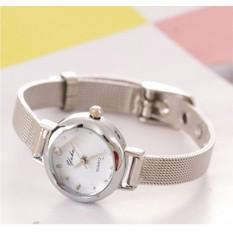 Đồng hồ nữ dây thép không gỉ Yehao YH145 (bạc)