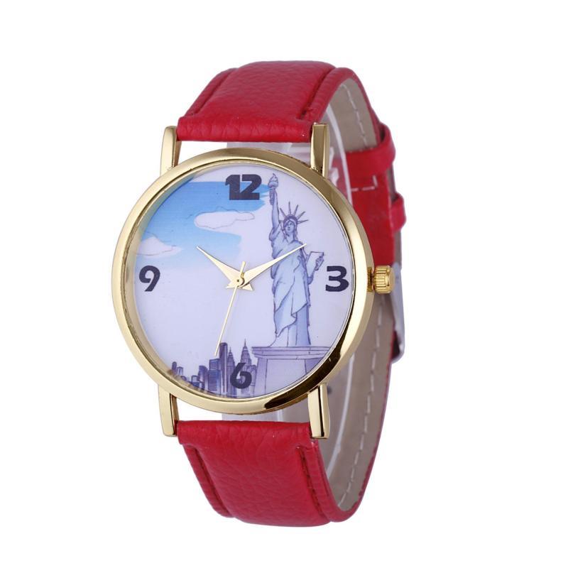 Đồng hồ nữ Decoshop68 W10-Đ màu Đỏ giá tốt bán chạy