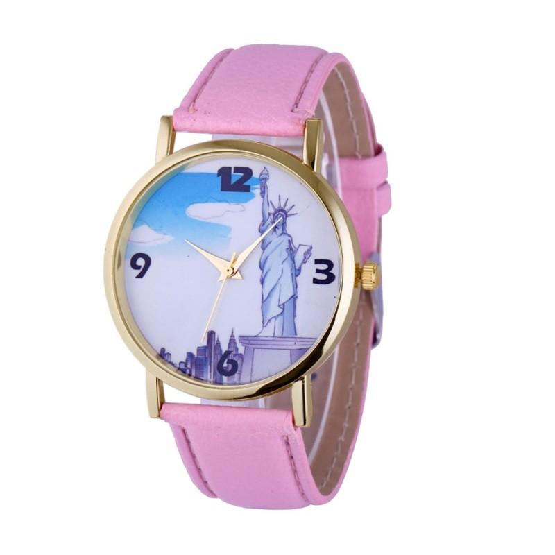 Đồng hồ nữ Decoshop68 W10-H màu Hồng giá tốt bán chạy