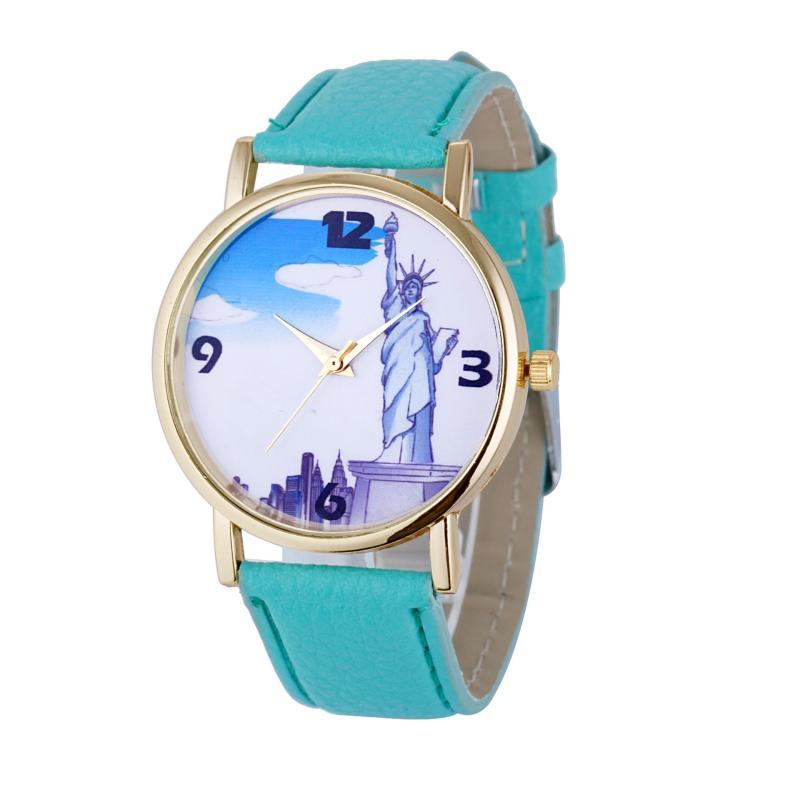 Đồng hồ nữ Decoshop68 W10-X màu Xanh giá tốt bán chạy