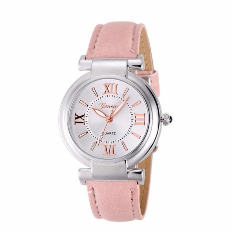 Đồng hồ nữ Decoshop68 W12-H màu hồng giá tốt bán chạy