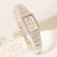 Nơi bán Đồng hồ nữ đính đá thời trang BS 1138 sang trọng (Silver)
