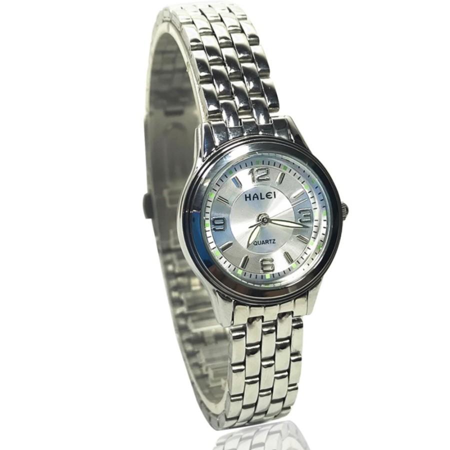 Đồng hồ nữ HALEI 472 dây thép không gỉ cao cấp