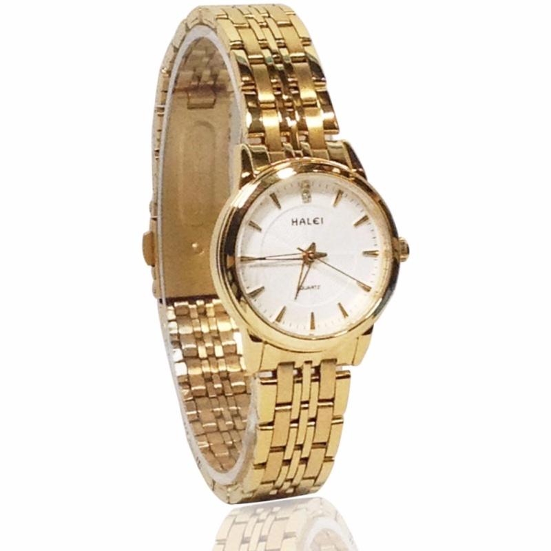 Đồng hồ nữ HALEI 9222H dây thép không gỉ cao cấp