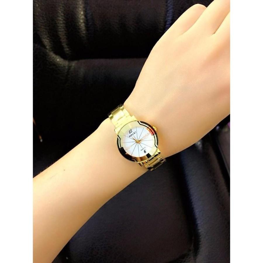 Đồng hồ nữ halei ảnh shop tự chụp. được xem hàng khi nhận hàng . chống xước  chống nước tuyệt đối hợp kim không phai zỉ.