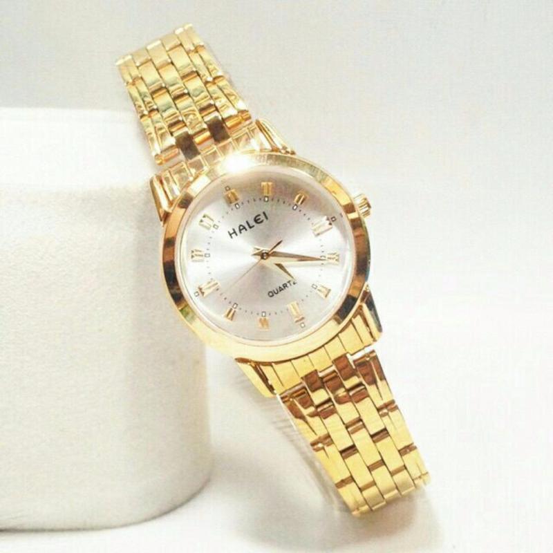 Đồng hồ nữ Halei Hl236 V6 mặt trắng chống nước