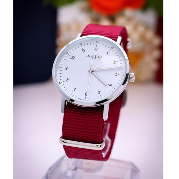 Đồng hồ nữ Julius Hàn Quốc JU1147 Hồng
