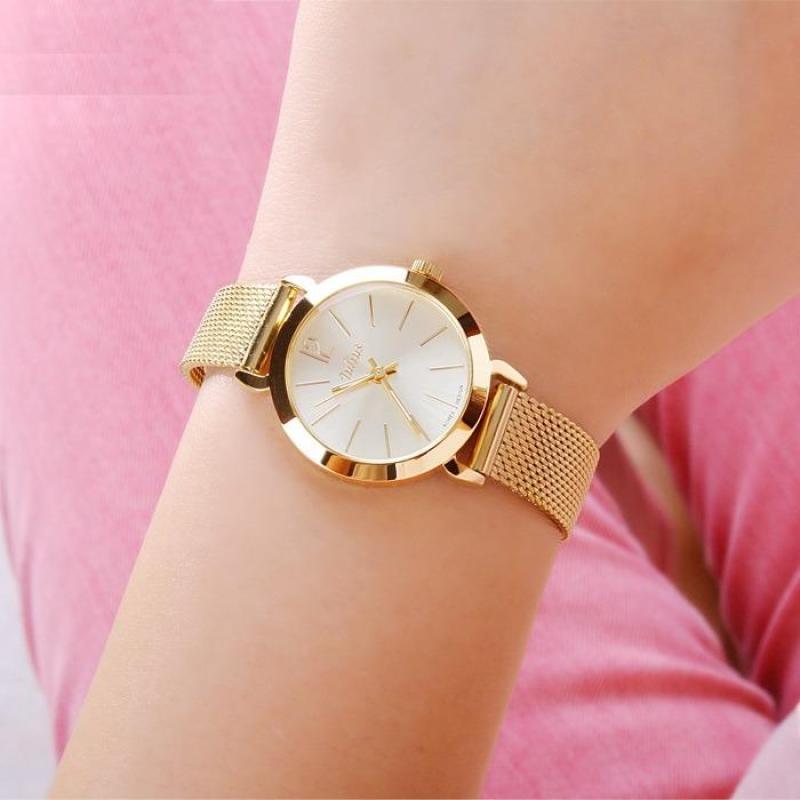 Đồng hồ nữ JULIUS JU970 vàng