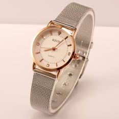 Hình ảnh Đồng hồ nữ KEVIN dây thép lụa số đính đá thời trang sang trọng MDL-KV01