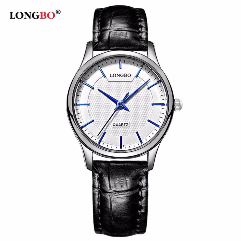 Nơi bán Đồng hồ Nữ LONGBO 80301L-S0102 (trắng, mặt trắng, dây da đen)