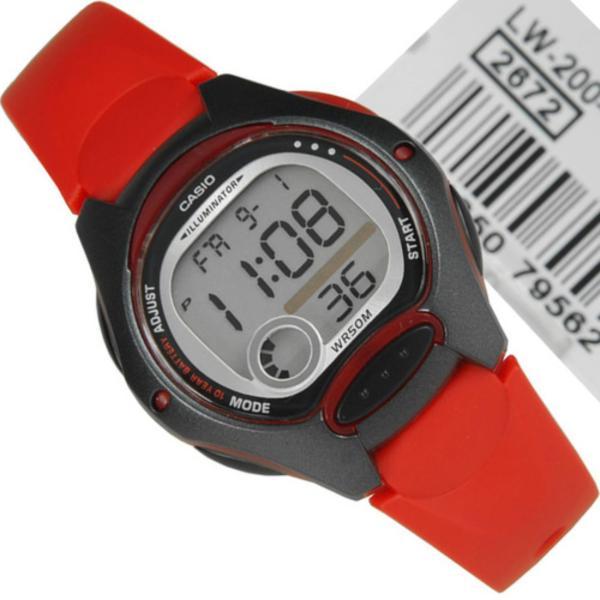 Nơi bán Đồng hồ nữ ,nam  dây nhựa dẽo Casio LW-200-4AVDF