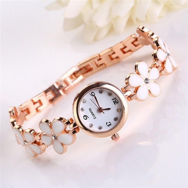 Đồng hồ nữ thời thượng hình hoa mai HM001