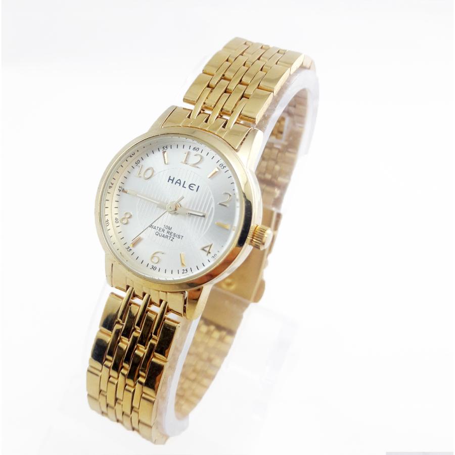 Đồng hồ nữ thời trang cao cấp TCT HALEI – HL666 (Mặt trắng)