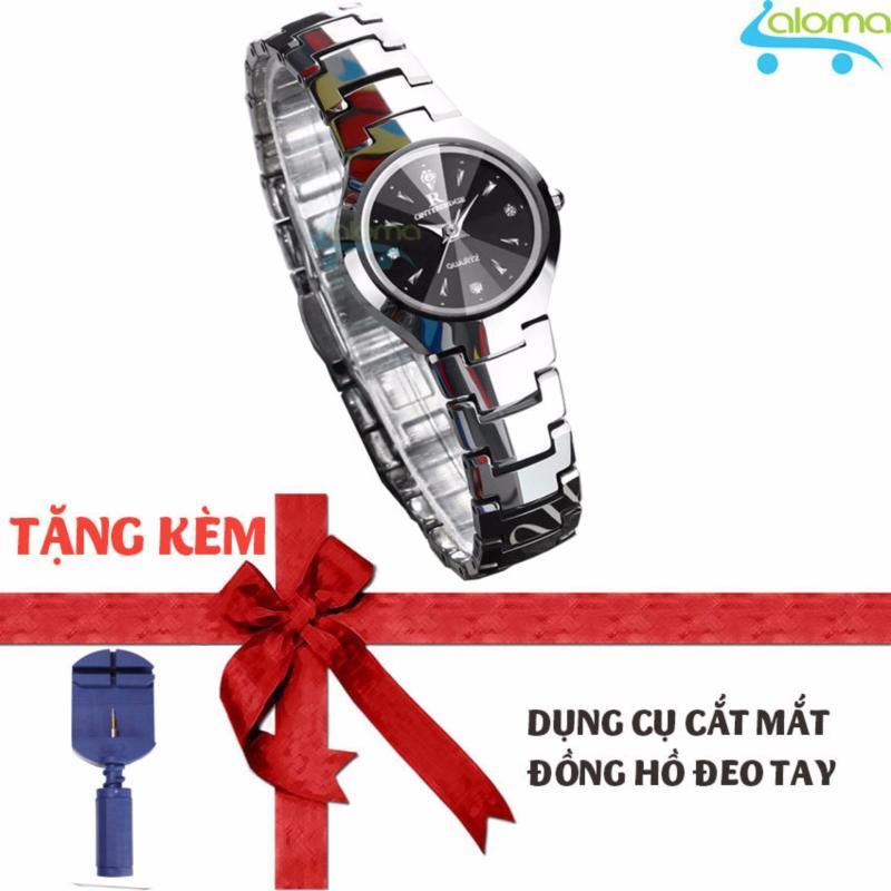 Đồng hồ nữ thời trang chống nước dây kim loại R-ontheedge (bạc) tặng dụng cụ cắt dây bán chạy