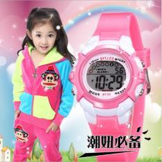 Giá bán Đồng hồ quà tặng xinh xắn+Vòng tay phát quang cho bé gái