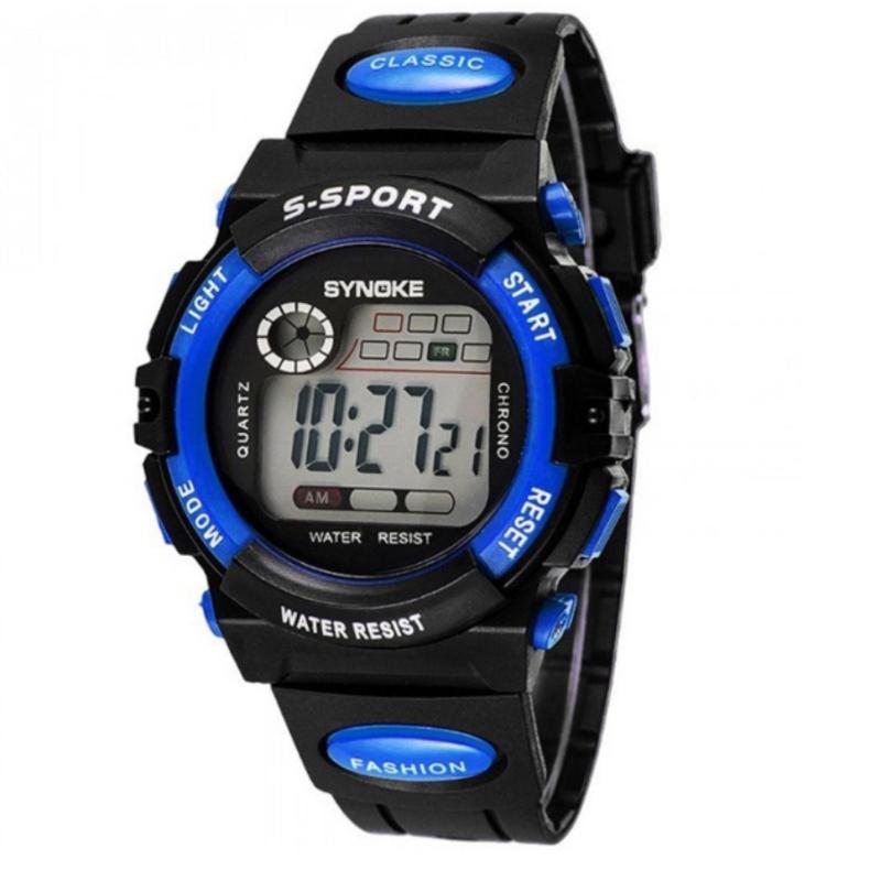 Đồng hồ thể thao dành cho bé trai Synoke 99269 (Xanh dương) bán chạy
