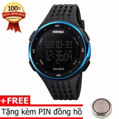 Đồng Hồ Thể Thao Nam Day Silicone Skmei 1219 Mới Nhất