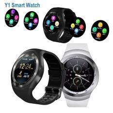 Đồng Hồ Thông Minh Smart Watch Y1 - Mặt Tròn, Lắm Sim, Thẻ Nhớ