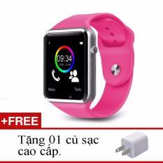 Bán Đồng Hồ Thong Minh Smartwatch A1 Hồng Củ Sạc Cao Cấp Dup Rẻ Thái Nguyên
