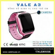 Đồng hồ thông minh trẻ em VALE A3 HỒNG PHẤN 0123 bán chạy
