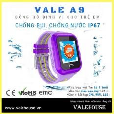 Đồng hồ thông minh trẻ em VALE A9 BẰNG LĂNG TÍM 3782 bán chạy