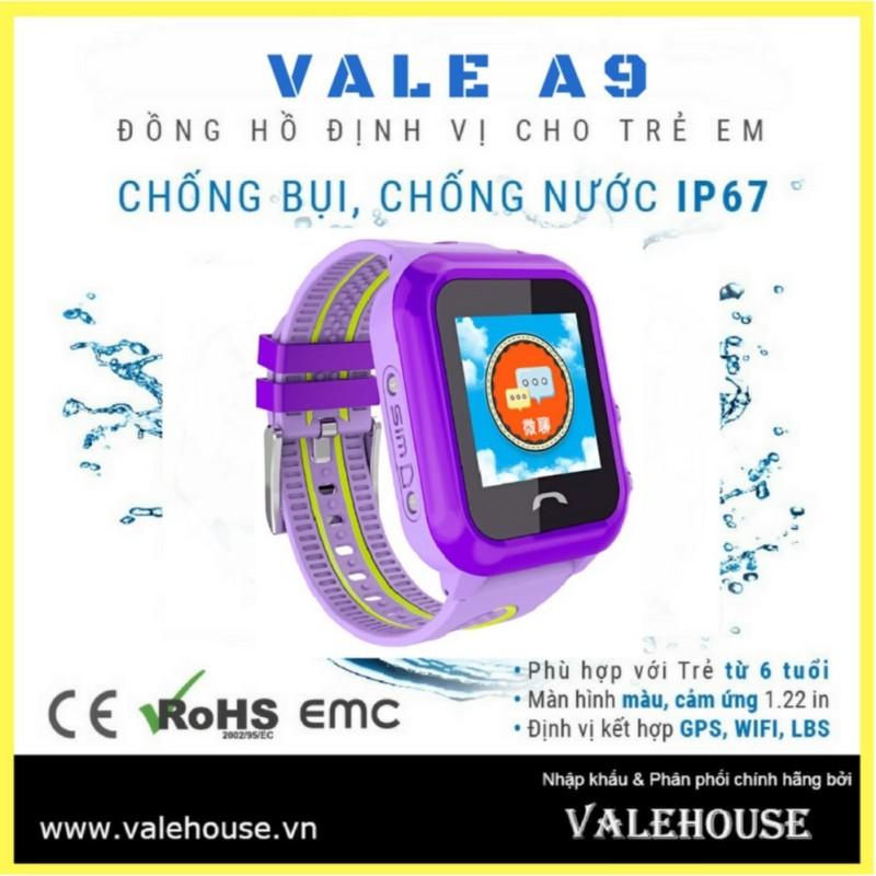 Nơi bán Đồng hồ thông minh trẻ em VALE A9 BẰNG LĂNG TÍM 3782