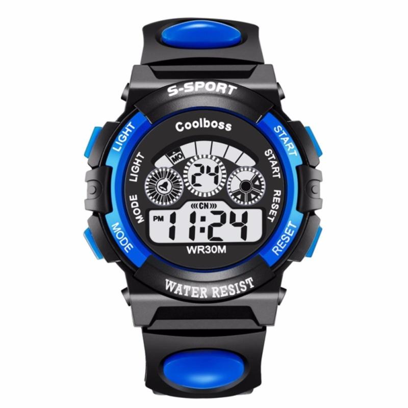 Nơi bán Đồng hồ trẻ em COOLBOSS tặng 1 pin (Màu xanh dương )