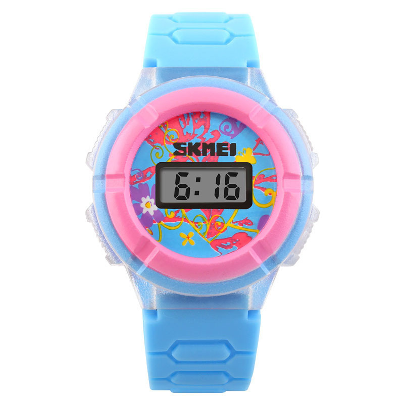Đồng hồ trẻ em dây cao su Skmei 1097 (Xanh dương ) bán chạy