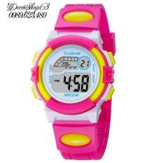 Giá bán Đồng hồ trẻ em Decoshop68 W03-HV màu hồng vàng giá tốt