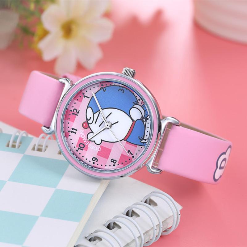 Đồng hồ trẻ em Decoshop68 W08-H màu hồng giá tốt bán chạy
