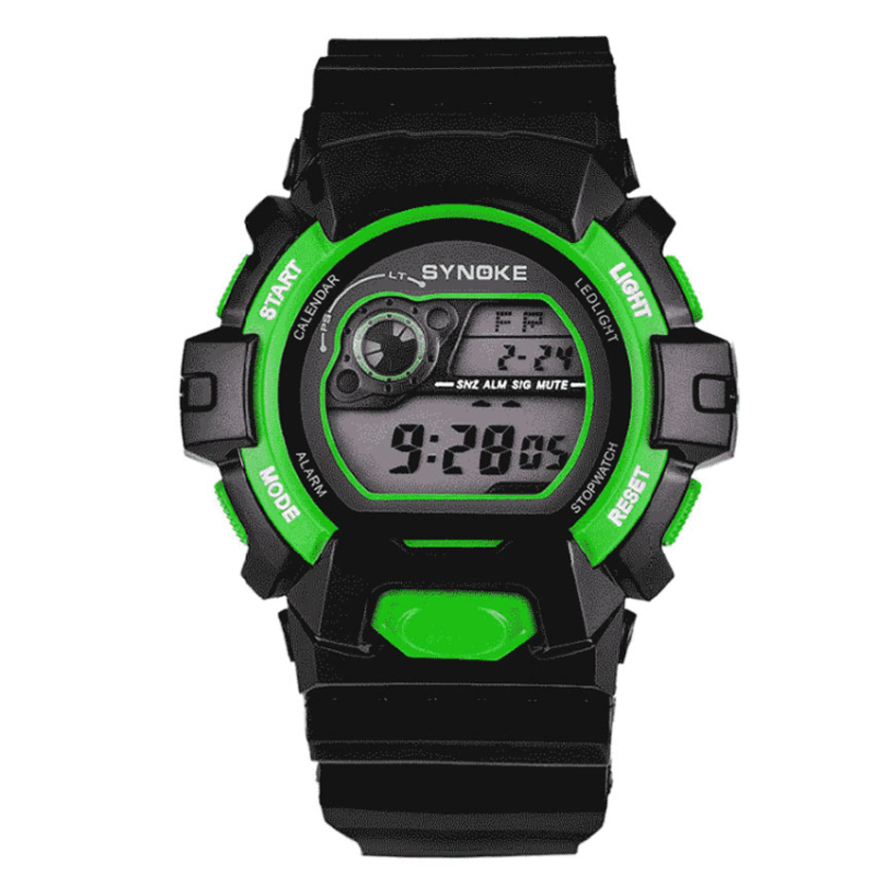 Nơi bán Đồng hồ trẻ em Synoke 67556 (Xanh lá)
