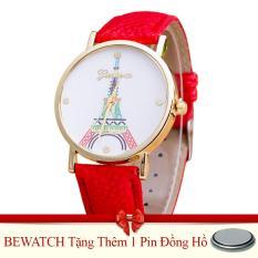 Ôn Tập Đồng Hồ Unisex Day Da Bewatch Đỏ Tặng Kem 01 Vien Pin Bewatch Trong Hà Nội