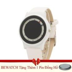 Bán Đồng Hồ Unisex Day Da Bewatch Mặt Đen Tặng Kem 01 Vien Pin Oem Trực Tuyến