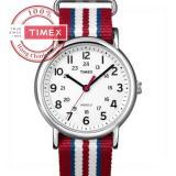 Bán Đồng Hồ Unisex Day Vải Timex Weekender T2N746 Xanh Dương Trắng Đỏ Rẻ Vietnam