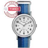 Chiết Khấu Sản Phẩm Đồng Hồ Unisex Day Vải Timex Weekender Tw2R10200 Xanh Dương