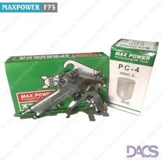 Bán Mua Dụng Cụ Phun Sơn Hiệu Maxpower F75 Hộp Xanh Tặng Kem Bộ Dụng Cụ Thao Lắp Va Vệ Sinh Hồ Chí Minh