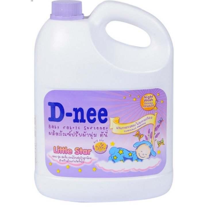 Dung dịch giặt xả em bé D-nee 3L (Tím)