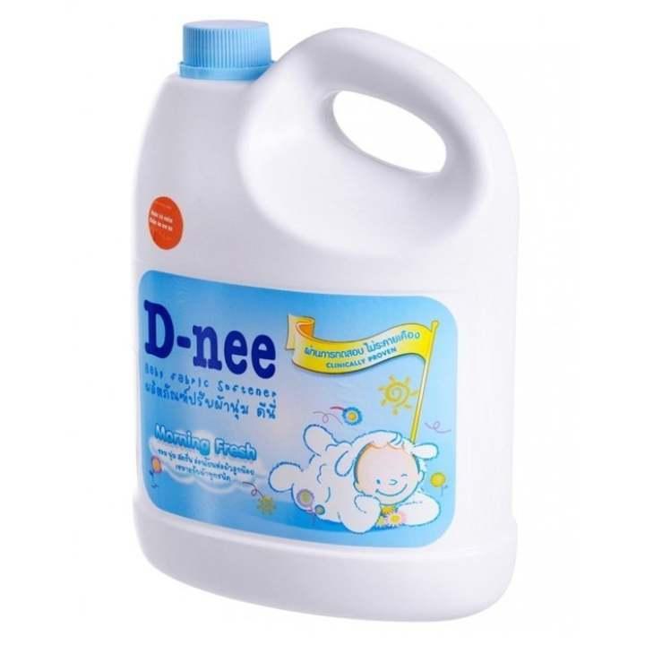 Dung dịch giặt xả quần áo em bé D-nee 3L...