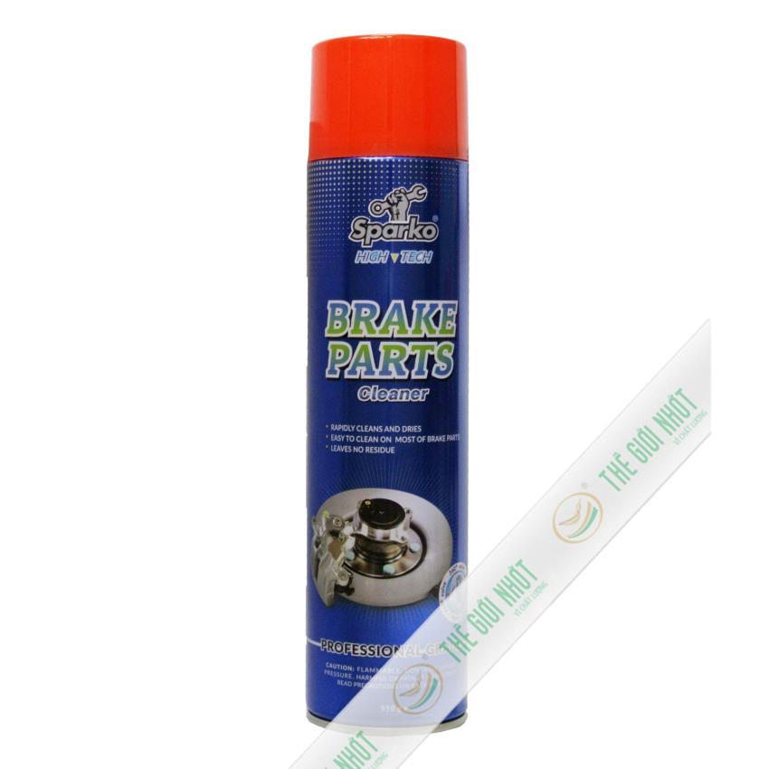 Dung dịch vệ sinh má phanh Sparko Brake Parts 510g