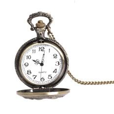 Giá Bán Elegant Retro Large Face Pocket Watch Necklace Hanging Quartz Watch Unisex Mới