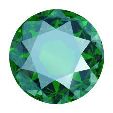 Emerald TỔng HỢp 5.4mm By Ngọc Châu Âu.