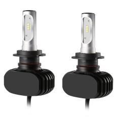 ERA 2pcs S1 H7 Car LED Headlight High Low 72W 8000LM 6000K DC9-32V Auto Bulb Headlamp - intl