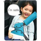 Mua Esogoal Auto Pillow Car Safety Belt Protect Shoulder Pad Adjust Vehicle Seat Belt Cushion With Seat Belt Adjuster For Kids Children Blue Intl Esogoal Nguyên