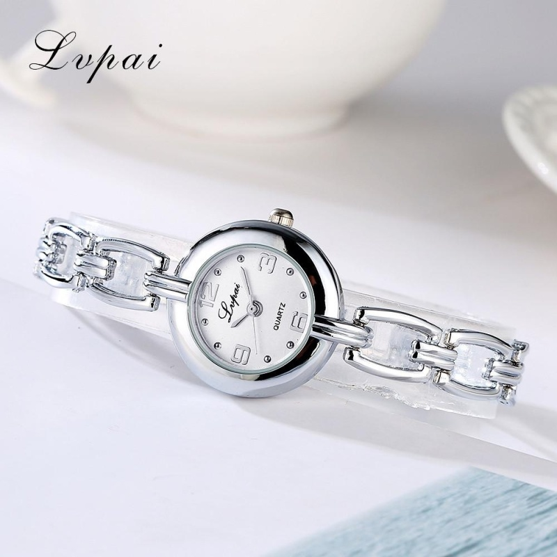 Nơi bán Fashion Ladies Women Unisex Stainless Steel Rhinestone Quartz Wrist Watch A