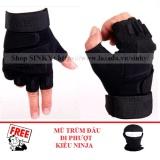 Giá Bán Găng Tay Nam Hở Ngon Blackhawk Đen Size M Tặng 1 Mũ Trum Đầu Kiểu Ninja Trực Tuyến Hồ Chí Minh